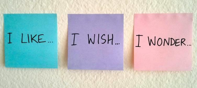 i like i wish i wonder