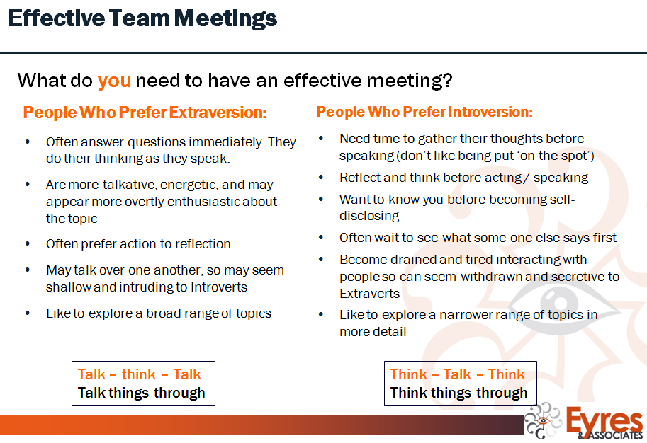 MBTI meetings 1