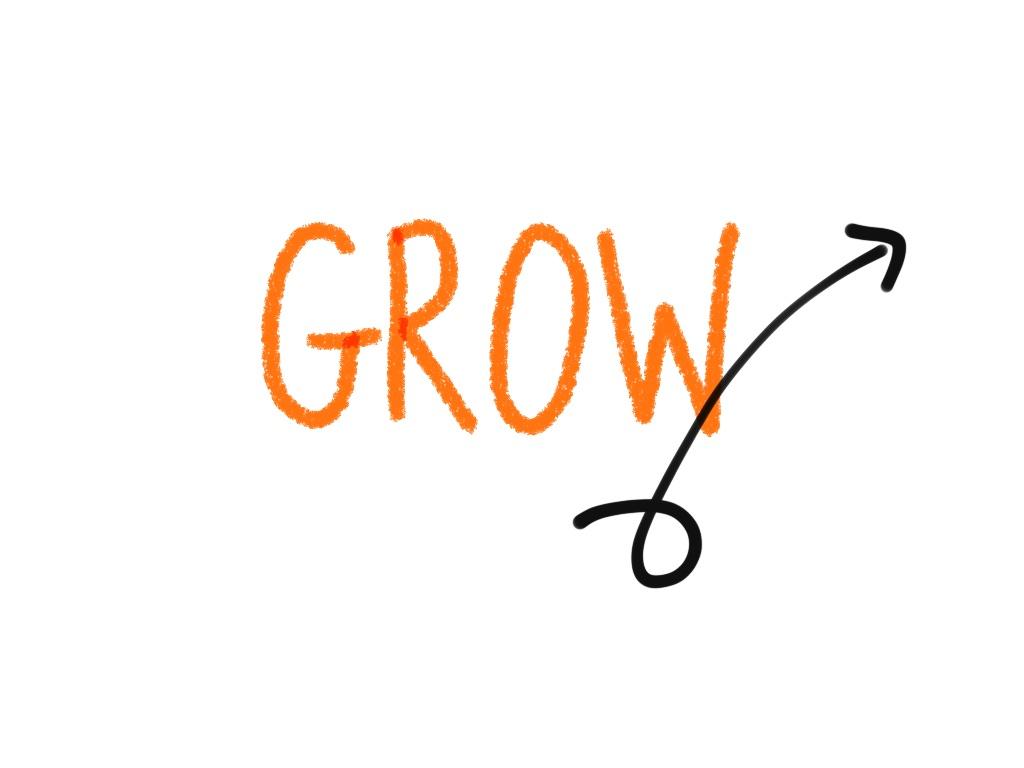 GROW arrow
