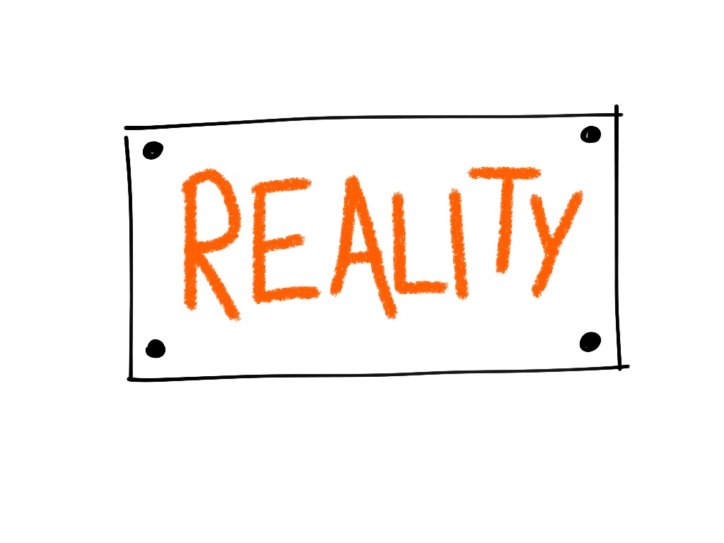 reality sign